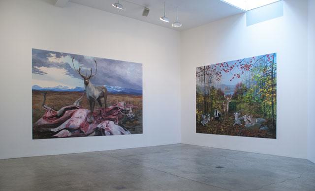 "Installation view, Adam Cvijanovic, ""Natural History,"""