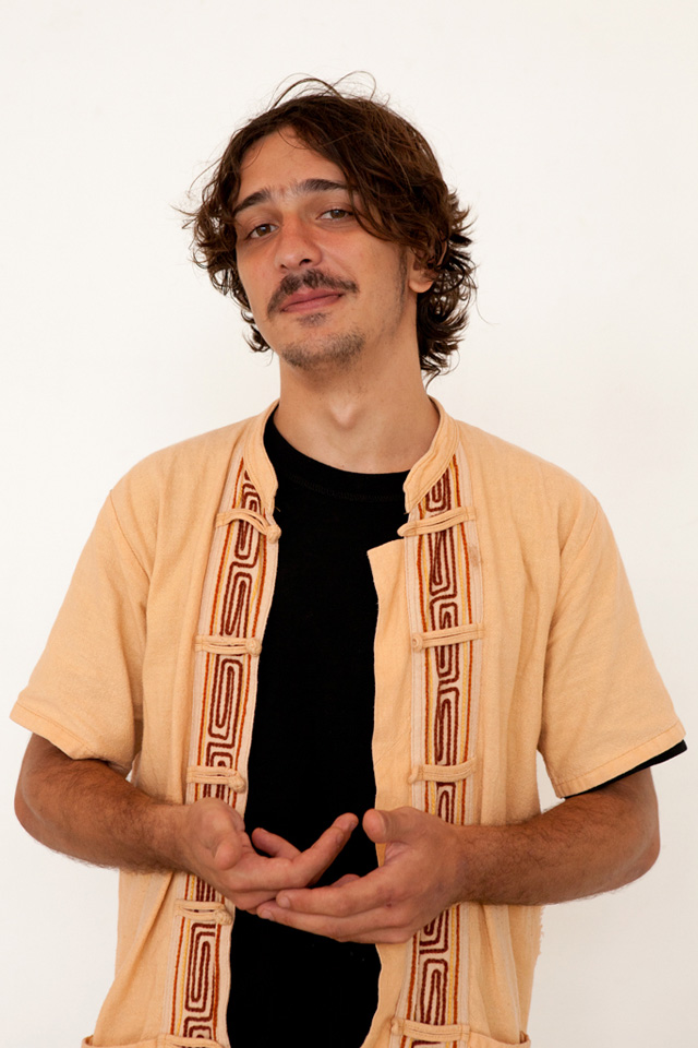 Sound artist Blu Simon Wasem