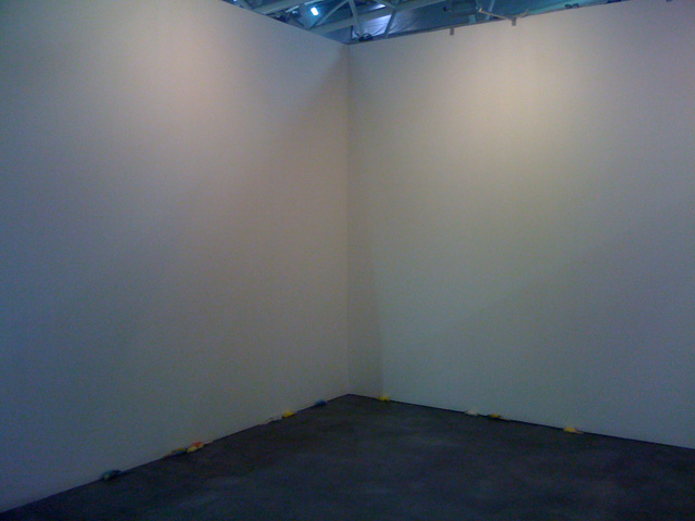 """Install view of Vanessa Safavi, """"Each color is a gift for you"""""""