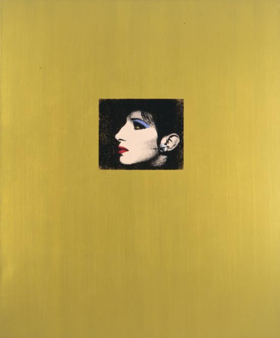 Deborah Kass, Gold Barbra (The Jewish Jackie Series), 1992