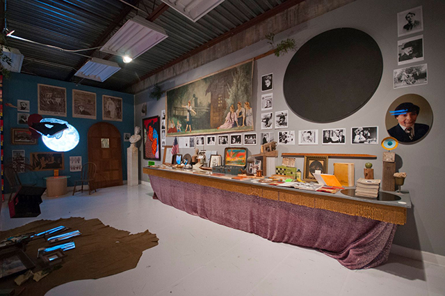 """Installation view of """"Pataphysics for Dummies"""" (All photographs by Mark Diamond)"""