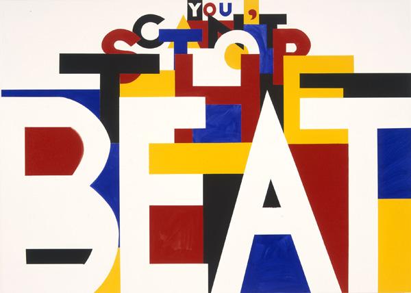 Deborah Kass, You Can't Stop the Beat, 2003
