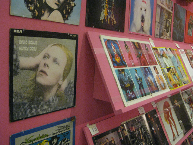 Bowie ephemera at the Tate Liverpool (All images by author)