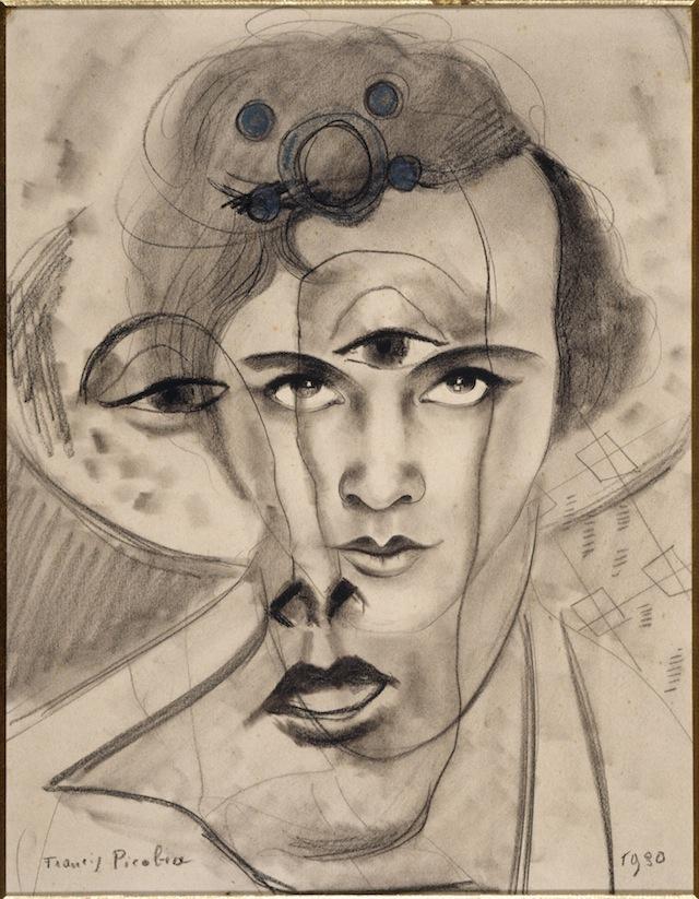 "Francis Picabia,  ""Olga,"" (1930)"