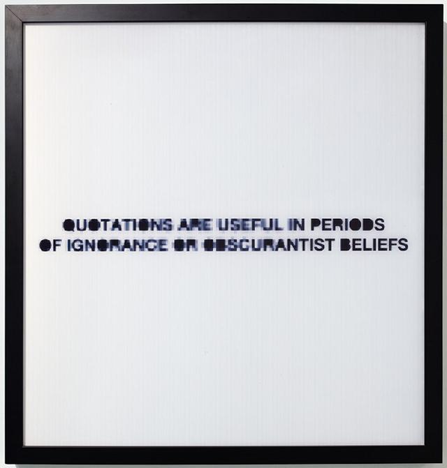 """UBIK, """"Quote"""" (2011)"""