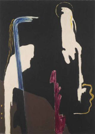 """Clyfford Still, """"The Spectre and the Perroquet"""" (1945)"""