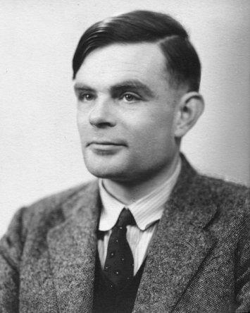 Alan Turing in 1951 (image via Wikimedia) http://en.wikipedia.org/wiki/File:Alan_Turing_photo.jpg