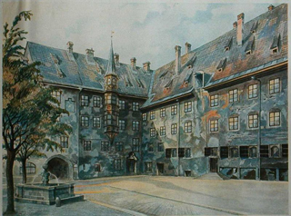 Art by Hitler (via Wikimedia)
