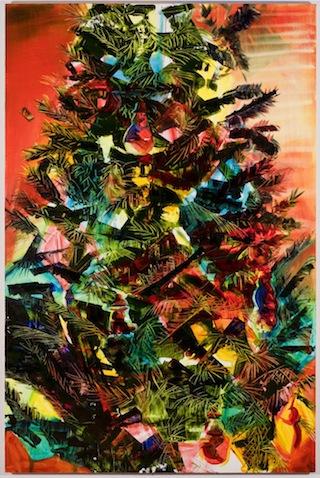 "Rachel Schmidhofer, ""Sunset Pine"" (2013) (courtesy of the artist)"