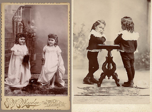 Two people doubled (via the American Museum of Photography)
