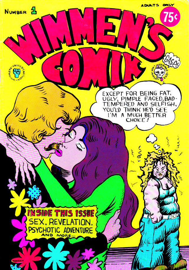 "Patti Moodian's ""Wimmen's Comix #1"" (1972)"