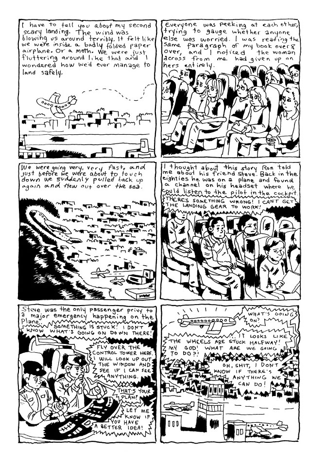 Page from Gabrielle Bell's 'Truth Is Fragmentary: Travelogues & Diaries' (click to enlarge)