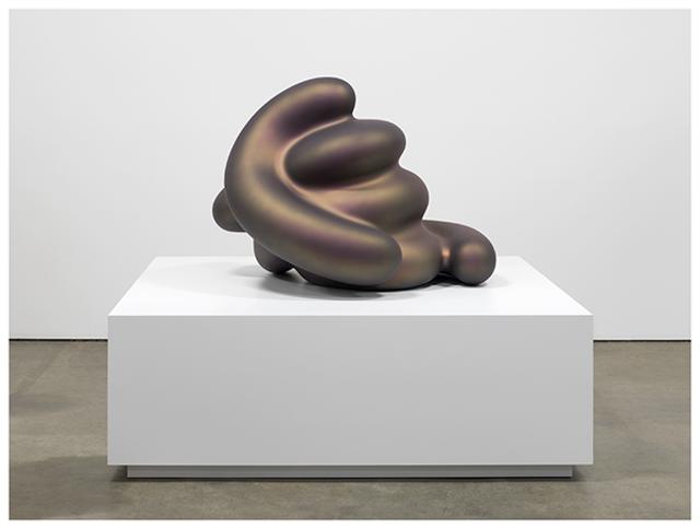 "Ken Price ""Percival""(2011) Painted bronze composite"