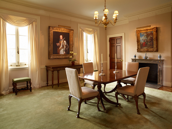 The former bedroom of Miss Helen Clay Frick (photo by Michael Bodycomb)