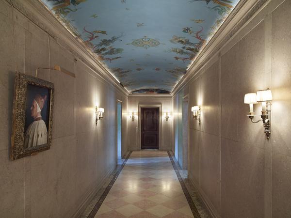 The second-floor corridor (photo by Michael Bodycomb)