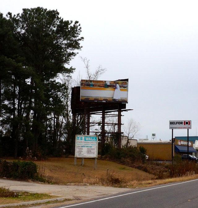 "Mario Ybarra Jr., ""Barrio Aesthetics"" (2013), billboard (courtesy the artist) (click to enlarge)"