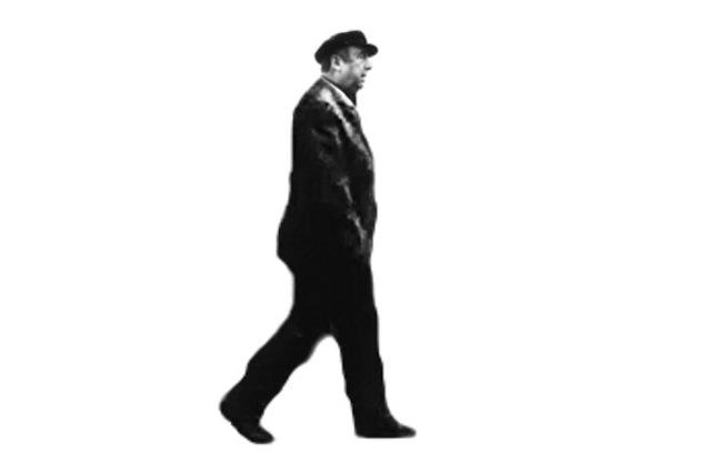 A hologram of Pablo Neruda (image courtesy of Fundación Pablo Neruda)