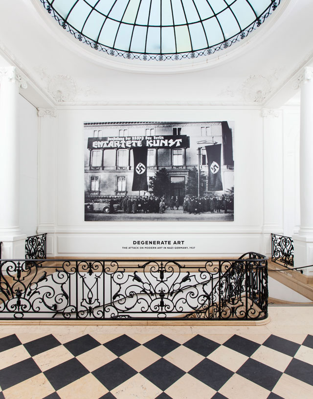 Installation view, 'Degenerate Art: The Attack on Modern Art in Nazi Germany, 1937' at Neue Galerie (all photos courtesy Neue Galerie)