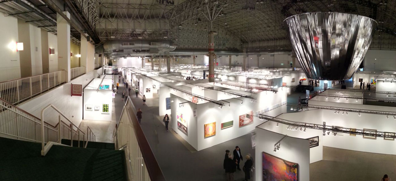 Expo Chicago 2014 (all photos by the author for Hyperallergic)
