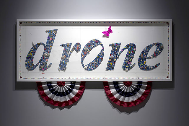 Gonkar Gyatso, Drone, 2014, courtsey the artist and Pearl Lam Galleries