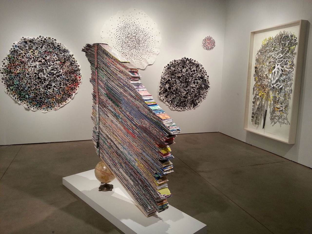 Mark Fox, installation view