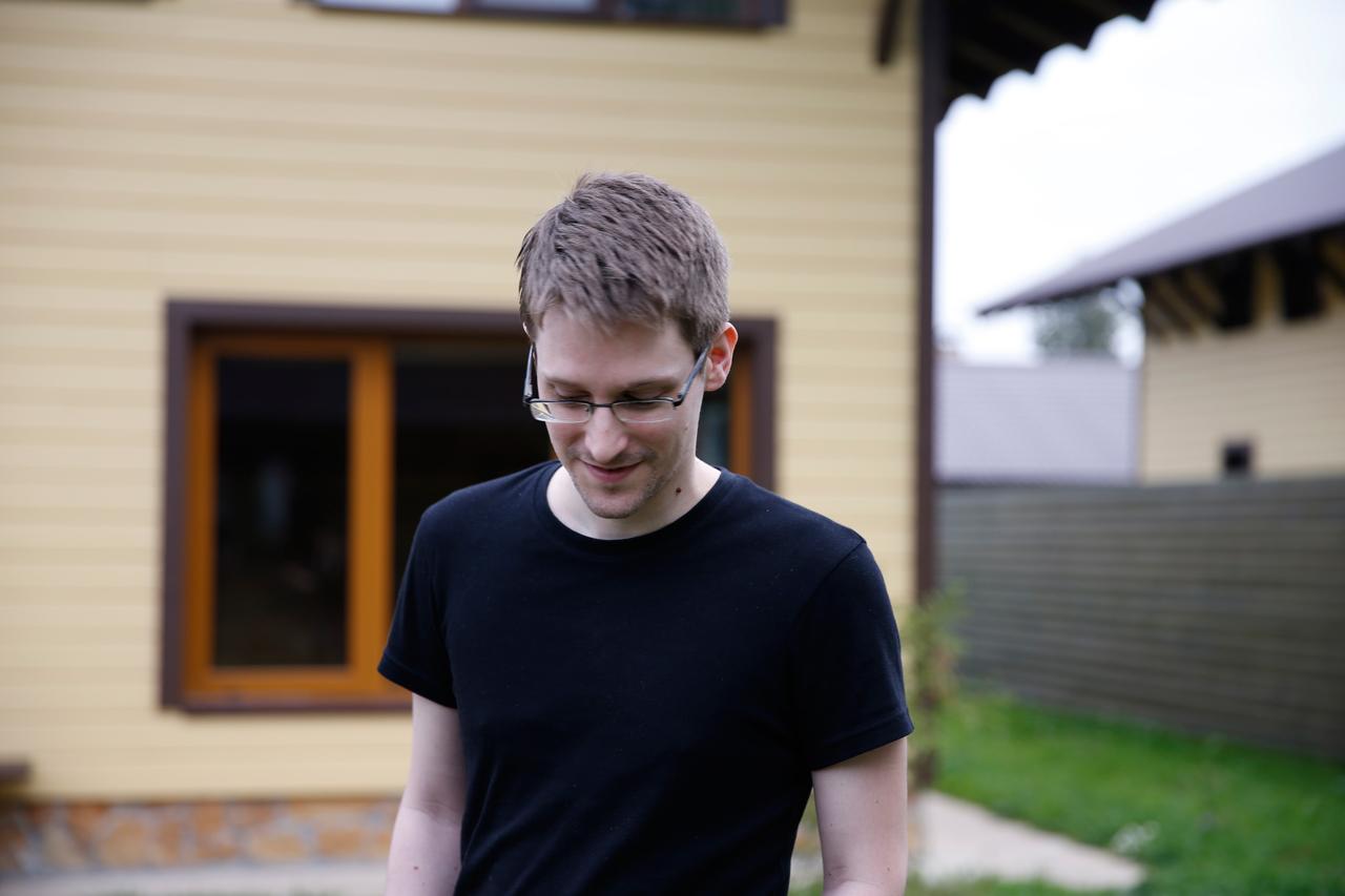 Edward Snowden (all images courtesy RADiUS-TWC)