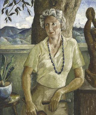 Albert Huie Portrait of Edna Manley