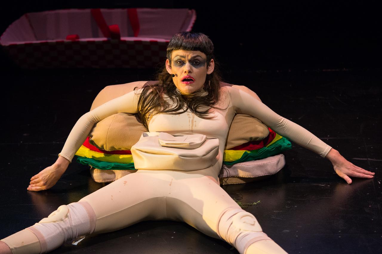 Dynasty Handbag performing 'Soggy Glasses: A Homo's Odyssey' at BAM (all photos by Rebecca Smyne, courtesy BAM)