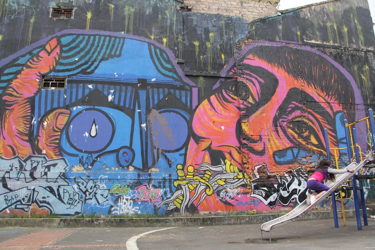 Mural by Bastardilla