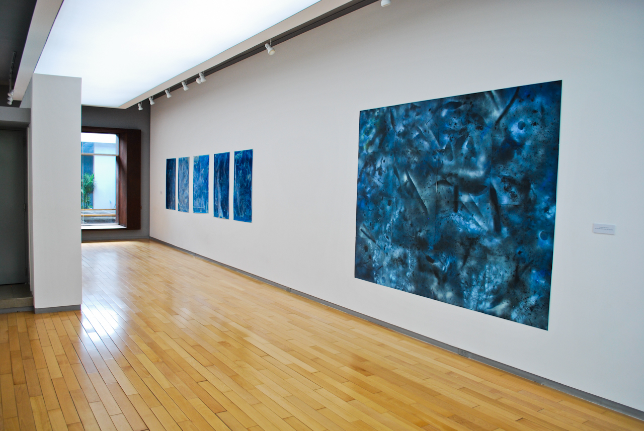 Installation shot of Galerie Quynh on Dong Khoi st.