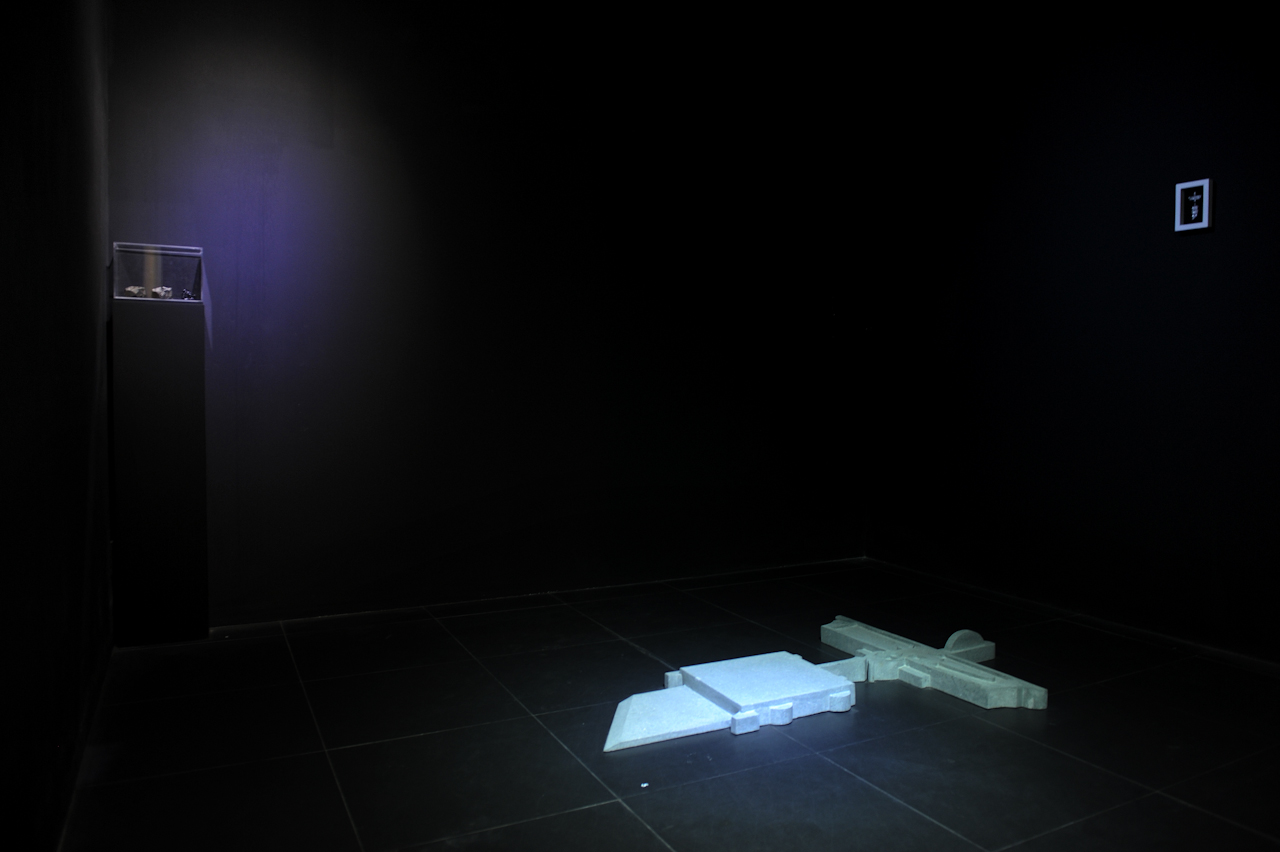 Nguyễn Trần Nam, installation show, image courtesy the gallery.