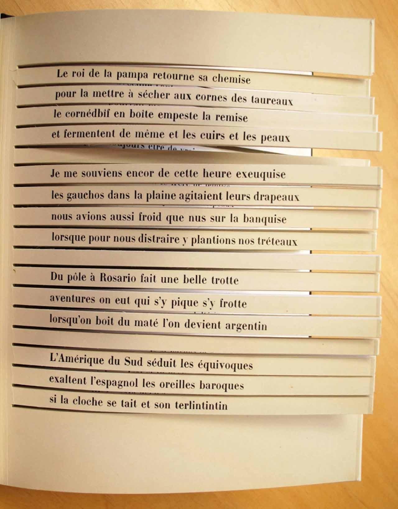 "Raymond Queneau, ""Cent mille milliards de poèmes"" (Paris: Gallimard, 1961) (courtesy of University of Arizona Libraries, Special Collections)"