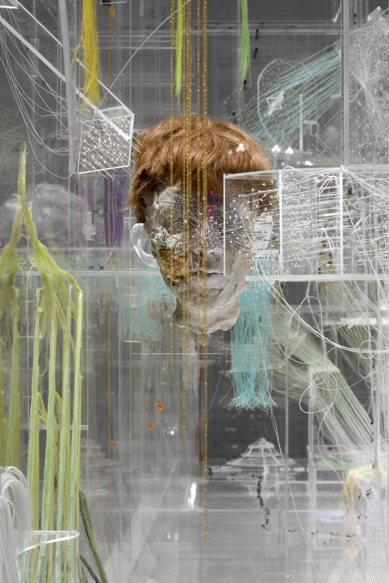 """David Altmejd, """"The Swarm"""" (2011) (photo by Farzad Owrang, image courtesy of The Brant Foundation Art Study Center)"""