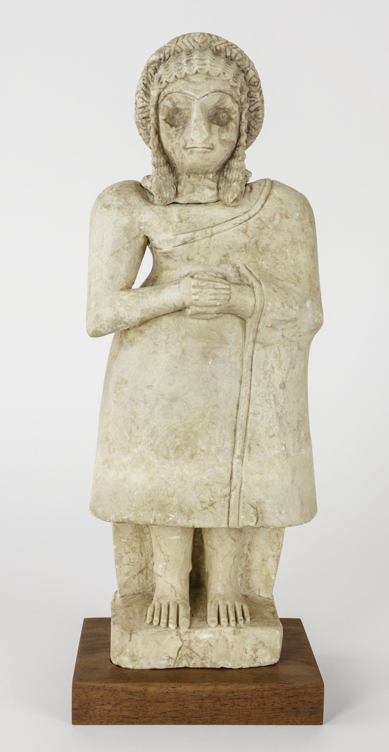 Standing female figure (courtesy Institute for the Study of the Ancient World)