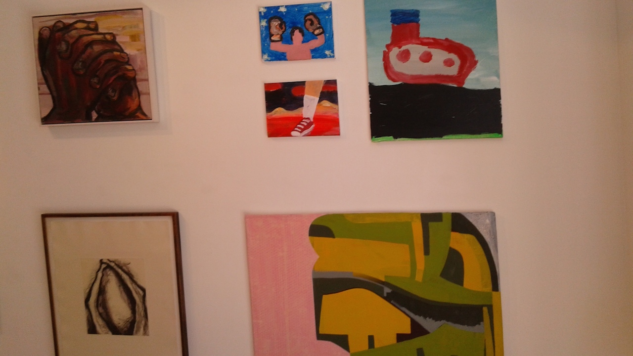 Installation View. The Guston Effect (click to enlarge)