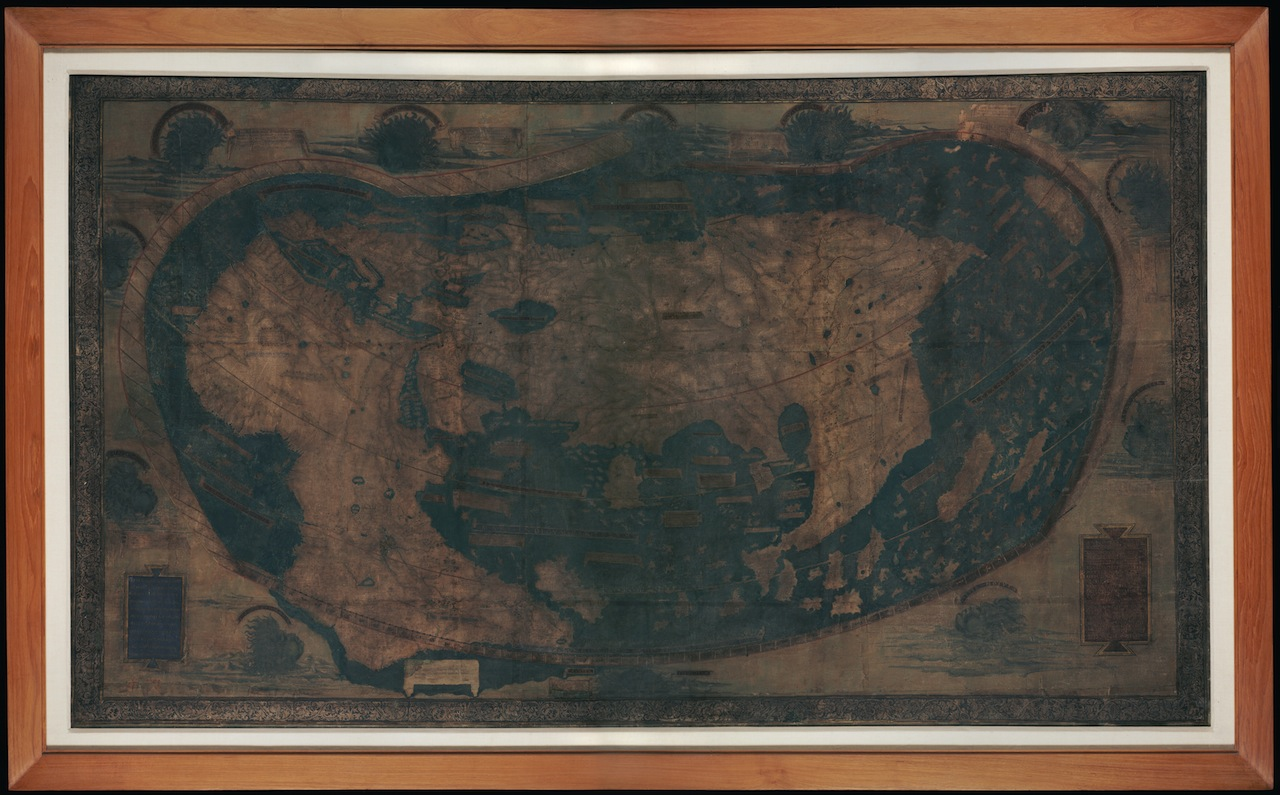 A map of the world by Henricus Martellus (c. 1489) (Image courtesy of Beinecke Rare Book & Manuscript Collection at Yale University)