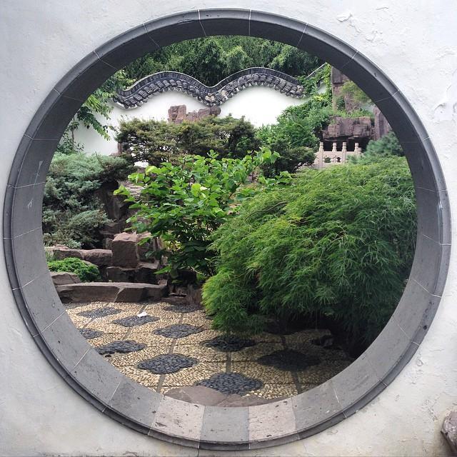 View of the Chinese Scholar Garden (photo via fattyowls/Instagram)