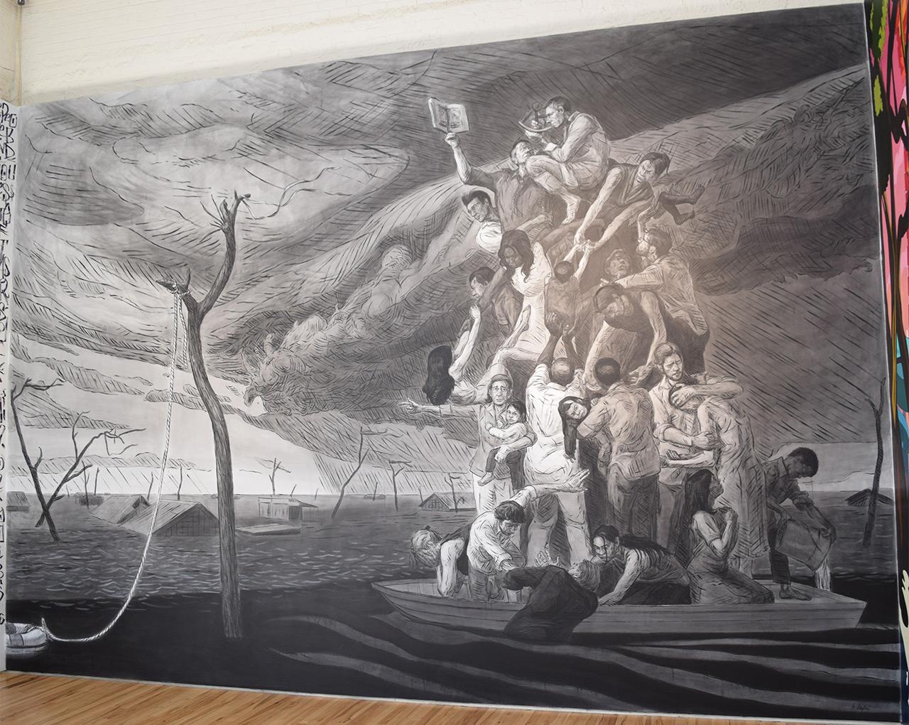 "Brian Adam Douglas, ""The Rain Dogs"" (2015) at Andrew Edlin Gallery"