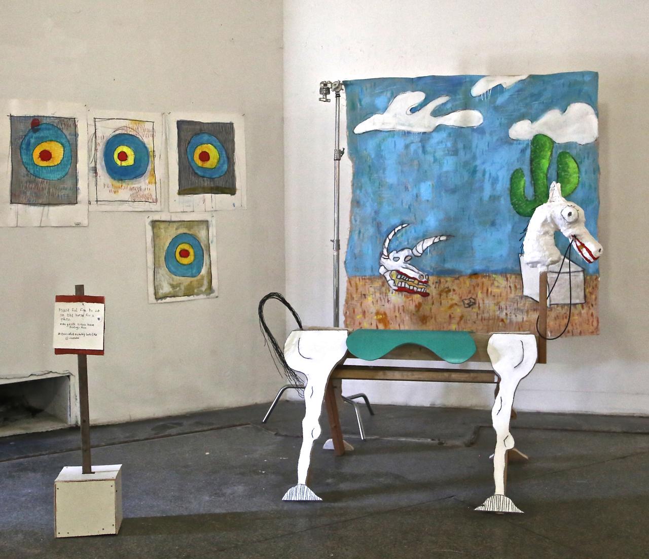 Alexander Buzzolini's Wild West portrait studio