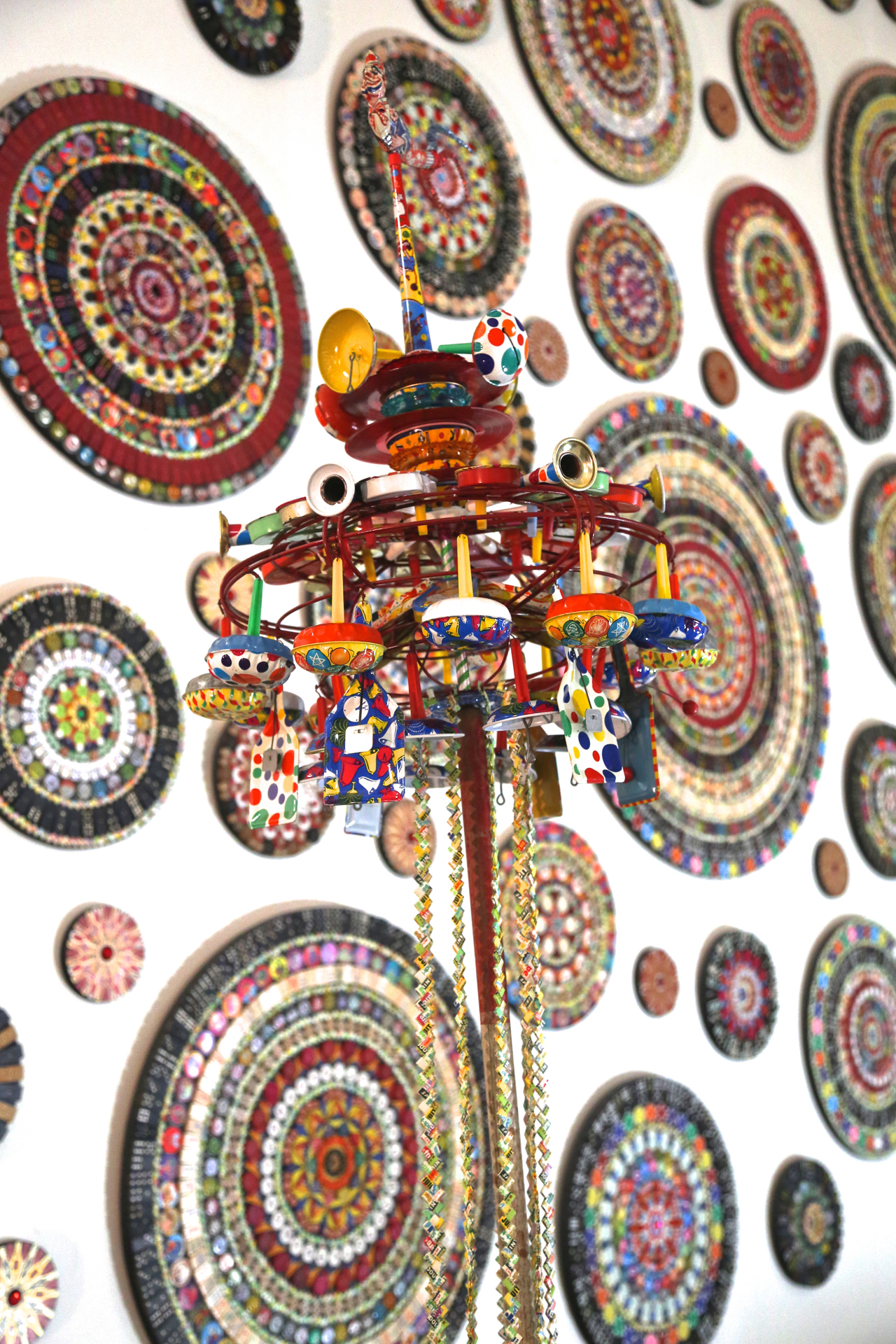 """Detail of John Gutosk, """"The Mandala Project"""" (click to enlarge)"""
