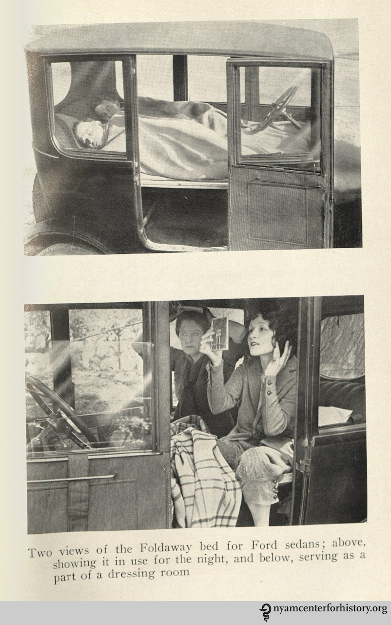 'Motor camping' by John Cuthbert Long (1923)
