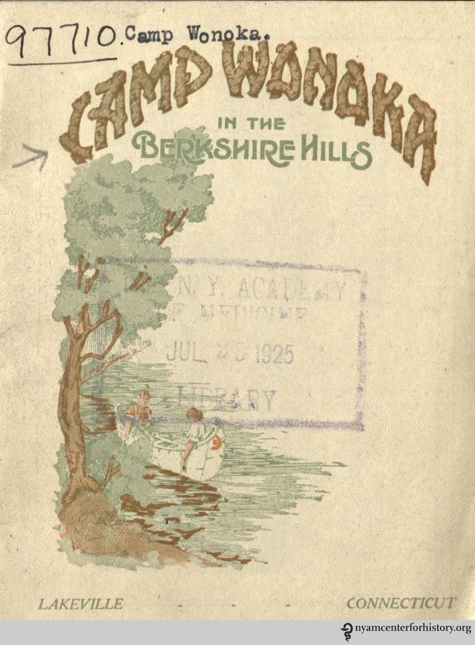 'Camp Wonoka in the Berkshire Hills' (1925)