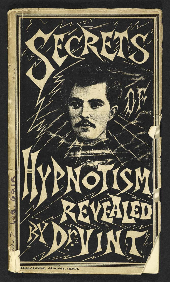 'Handbook of Hypnotism & Mesmerism' by Dr. Vint (1891) (click to enlarge)