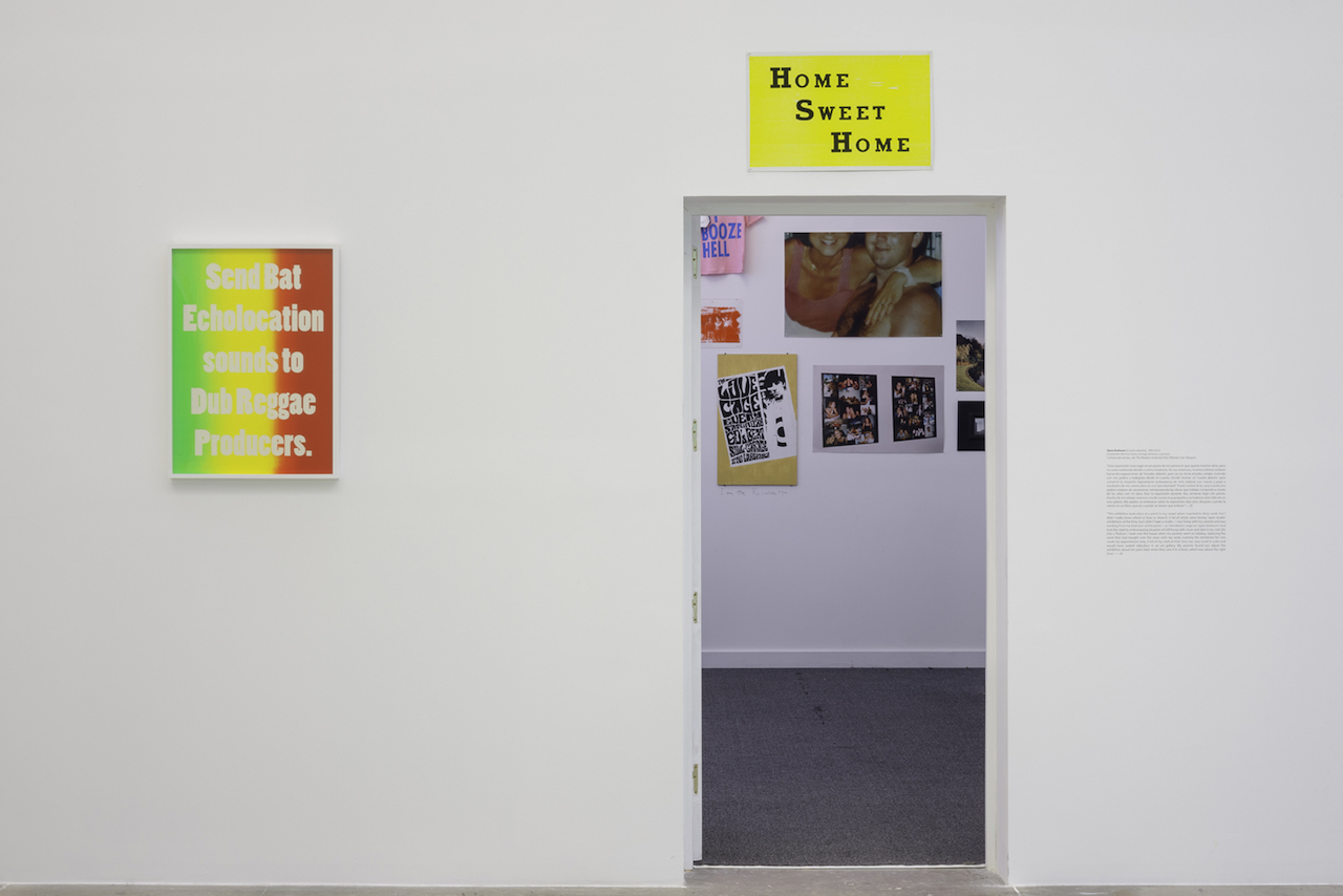 Installation view of 'The Infinitely Variable Ideal of the Popular' at MUAC (photo by Oliver Santana, courtesy MUAC)