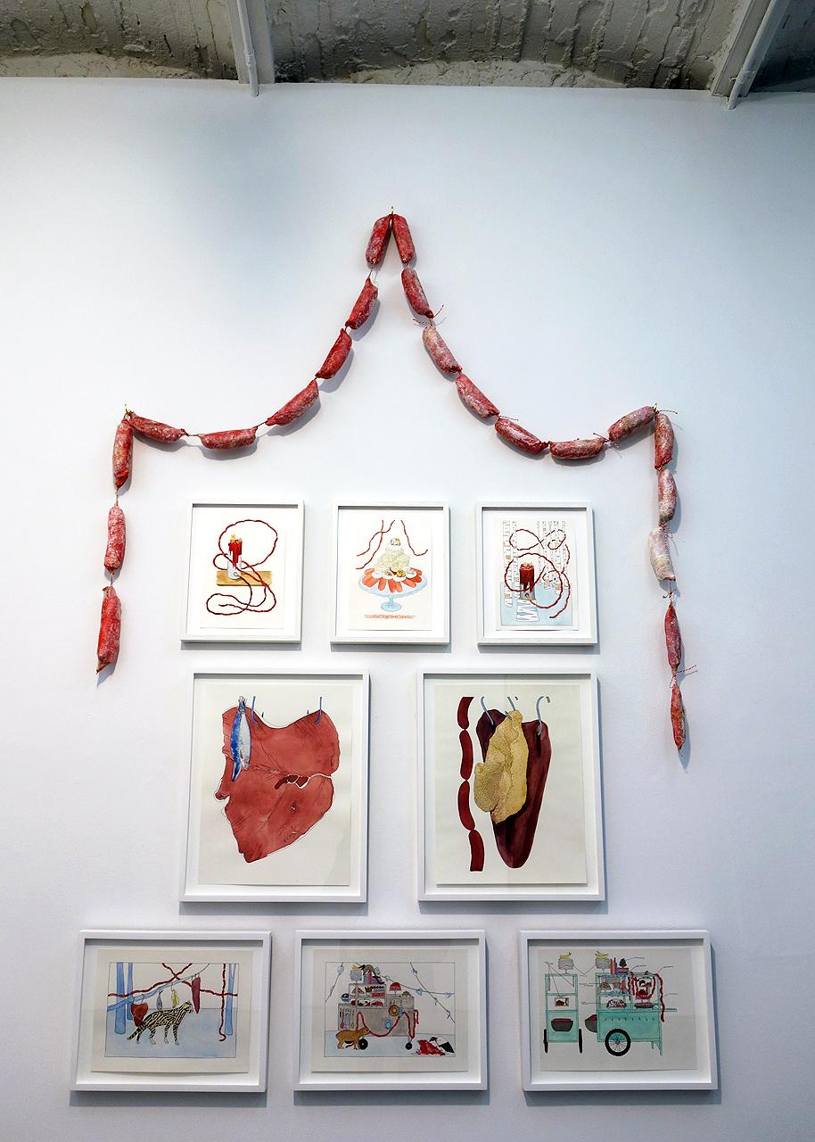 Dana Sherwood at Denny Gallery