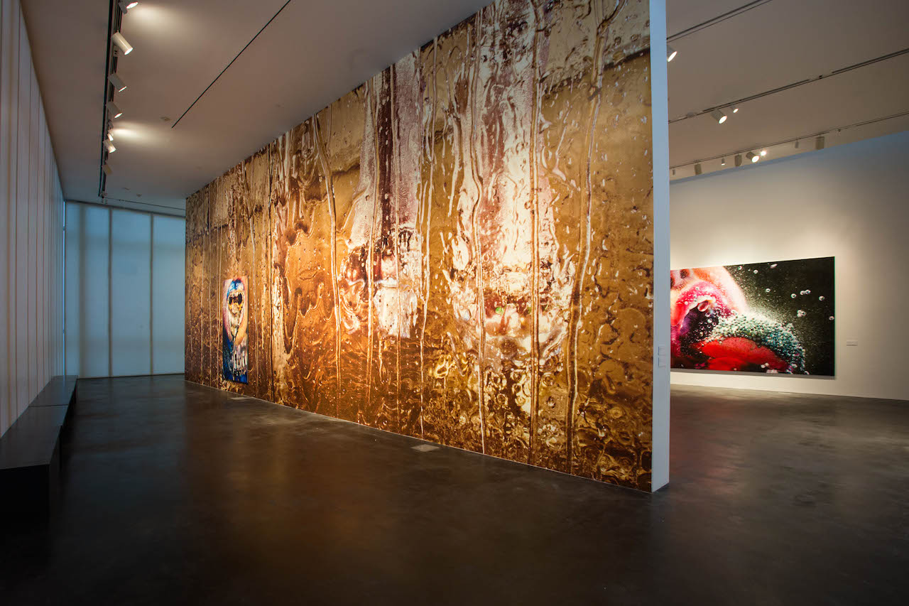 Installation view of 'Marilyn Minter: Pretty/Dirty' at the Museum of Contemporary Art Denver (photo by Kelly Shroads, courtesy the Museum of Contemporary Art Denver)