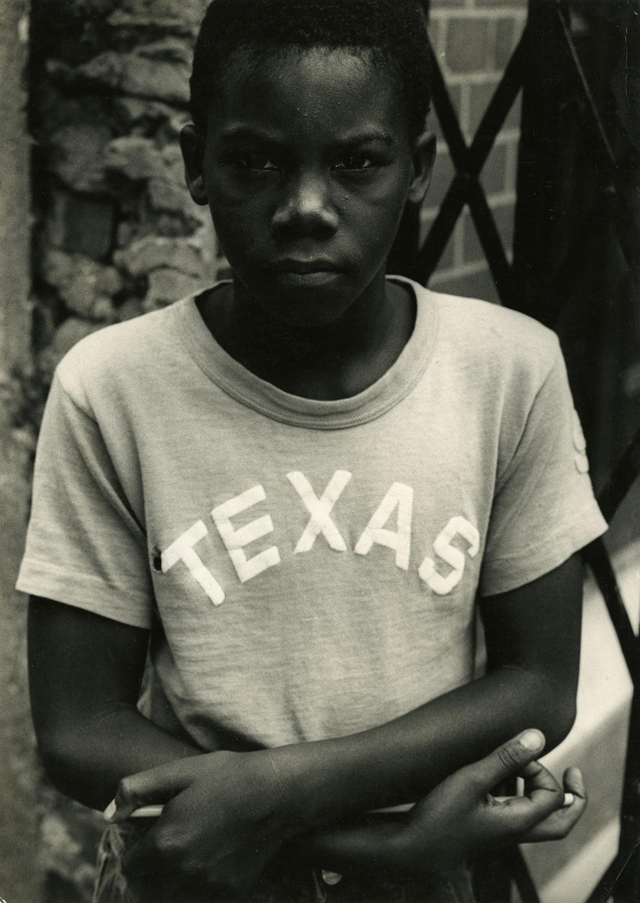 "Louis Draper, ""Texas Boy, New York"" (c. 1965), vintage gelatin silver print, printed c. 1965, 9.75 x 6.33 inches"