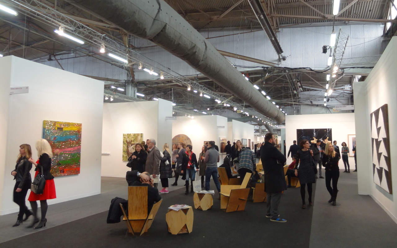 The 2014 Armory Show (photo by the author for Hyperallergic)