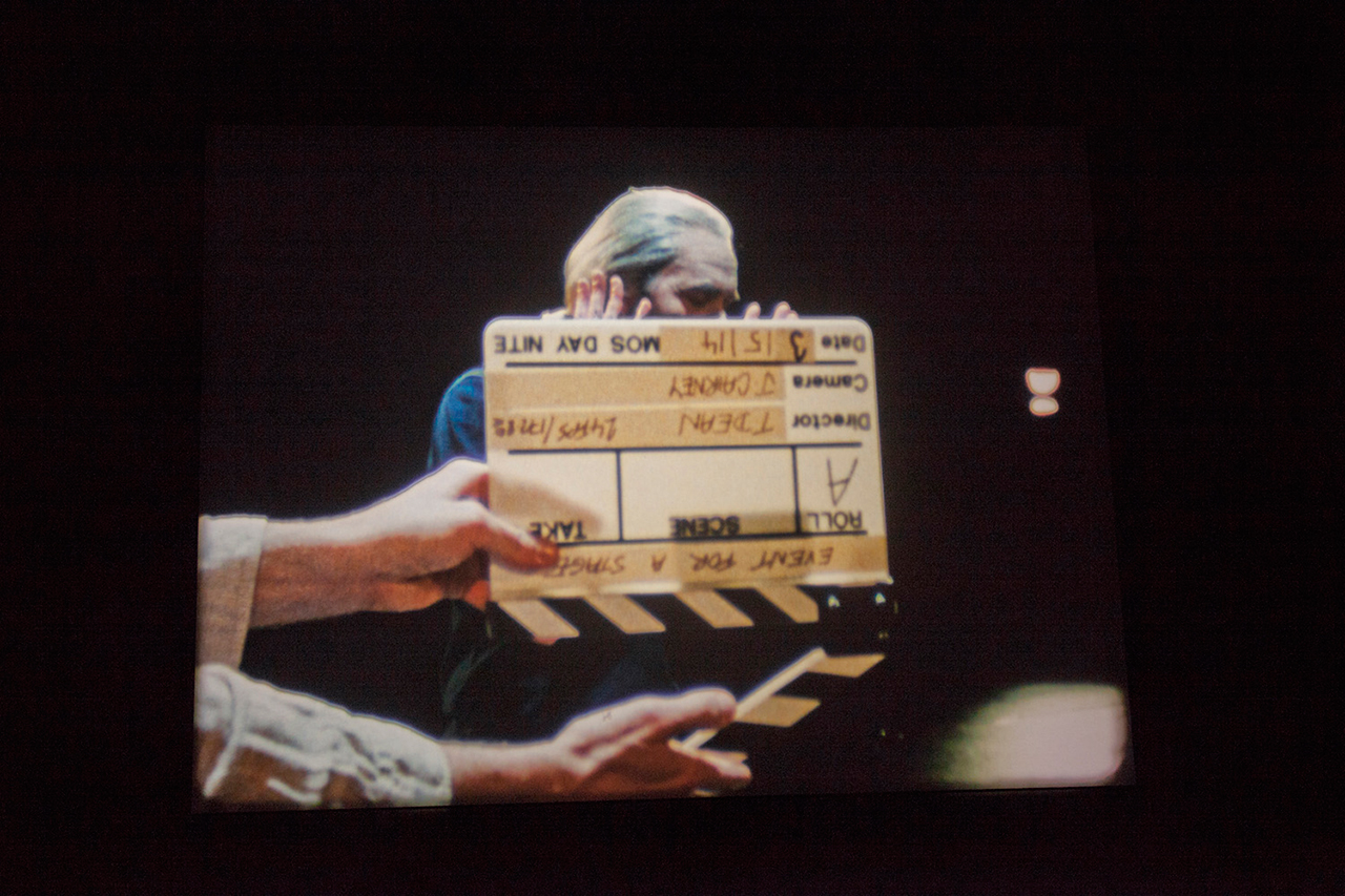 """Tacita Dean, """"Event for a Stage"""" (2015), 16mm color with optical sound, 50 min"""