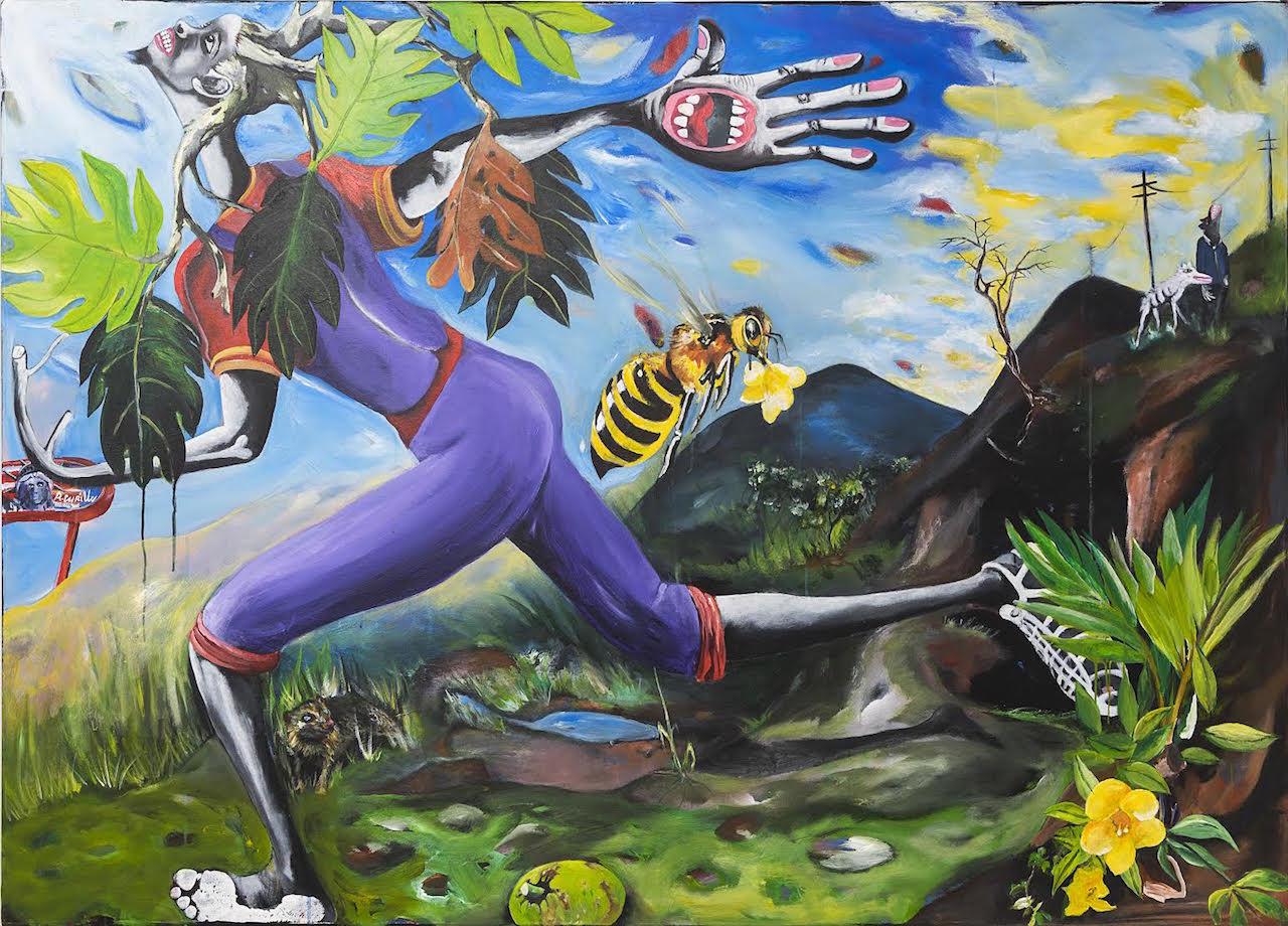 "Ronald Cyrille ""Freedom"" (2016) (image courtesy of espace d'art contemporain 14°N 61°W, Fort de France, Martinique)"